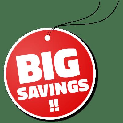 big savings image