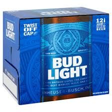 Bud Light 12 x 300ml