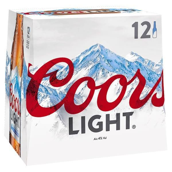 Coors Light 12 x 330ml