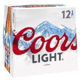 Coors Light 12 x 330ml